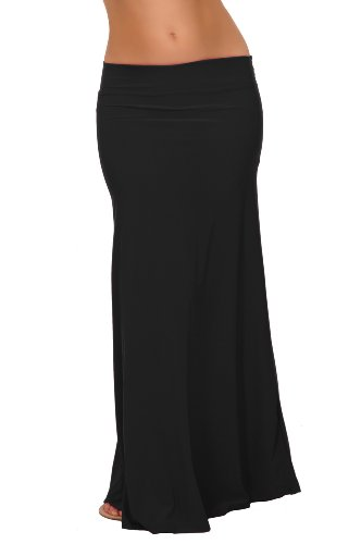 Fitted Maxi Skirt front-1054811