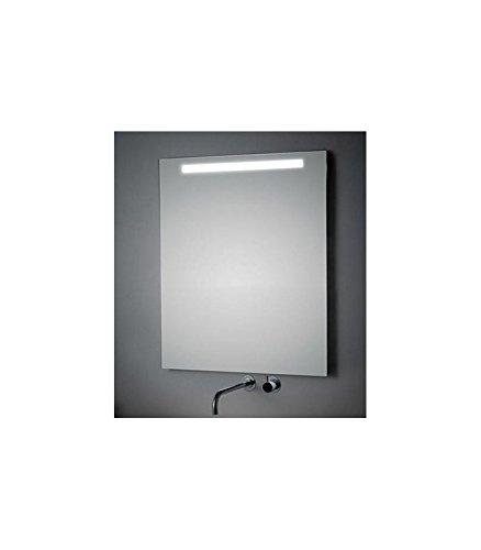 Koh-I-Noor L45910 Specchio Illuminazione Superiore LED 180X, Cromo