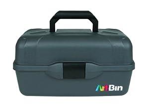 Artbin Essentials 3 Tray Box, Black