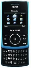 Samsung Propel A767 Unlocked Phone with QWERTY Keyboard, 3G Support, 1.3MP Camera, Stereo Bluetooth and Music Player--U.S. Version (Blue)