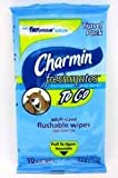 Charmin Freshmates To Go Flushable Wipes, Adult, Travel Pack, 10 ct.