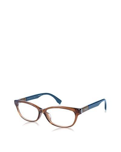 Fendi Gestell Ff 0072/F (53 mm) braun/blau
