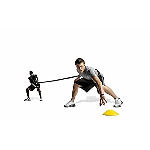 SKLZ Recoil 360, Dynamic Resistance and Assistance Trainer. Multi-Sport, Solo or Partner Belt with Bungee (Color: Multi, Tamaño: OS)