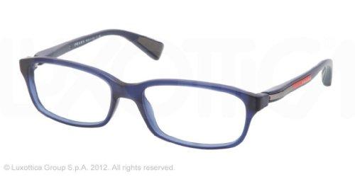 pradaPRADA SPORT Eyeglasses PS 02DV IAW1O1 Matte Blue 52MM