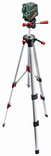 BOSCH 0603008201 Cross-Hair Laser PCL 20 Set with Tripod