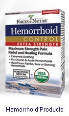 Forces of Nature Hemorrhoid Control Extra Strength Homeopathic Products 11 ml