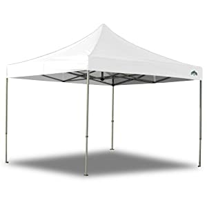 Caravan Canopy 10-by-10-Foot Displayshade Kit Commercial Canopy, White