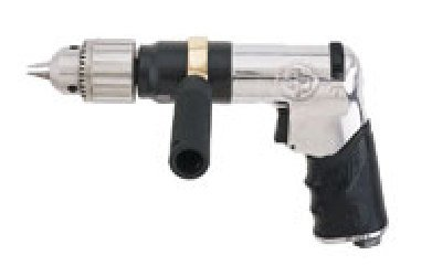 "Chicago Pneumatic 1/2"" Super Duty Reversible Drill - Model: Cp789Hr Speed: 500 Rpm Hose Size: 3/8"" Average Air Consumption: 7.5 Cfm"