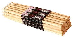 on-stage-maple-5a-nylon-tip-drumsticks-12-pairs