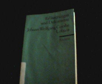 Johann Wolfgang Goethe, Urfaust.