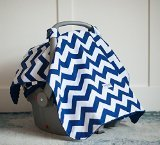 Toldo para silla (Jagger) Baby Infant Car Seat Cover W/cintas para sujeción y Minky tela