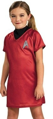 Star Trek Movie Child's Red Dress