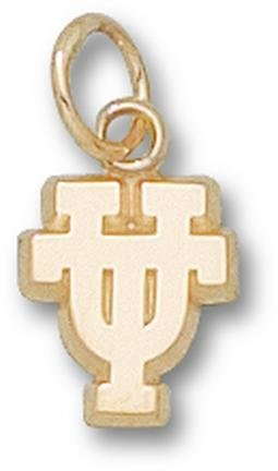 Texas Longhorns UT 3 8 Charm - 14KT Gold Jewelry by Logo Art