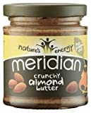 Meridian 100% Crunchy Almond Butter 170g (Order 6 For 1 Box)