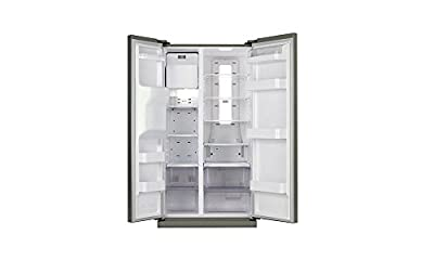 Samsung RS21HSTPN1 Side-by-Side Refrigerator (600 Ltrs, Platinum Inox)