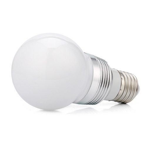 Hossen® Energy Saving 3W 16 Color Led Light Bulb E27 With Remote Control
