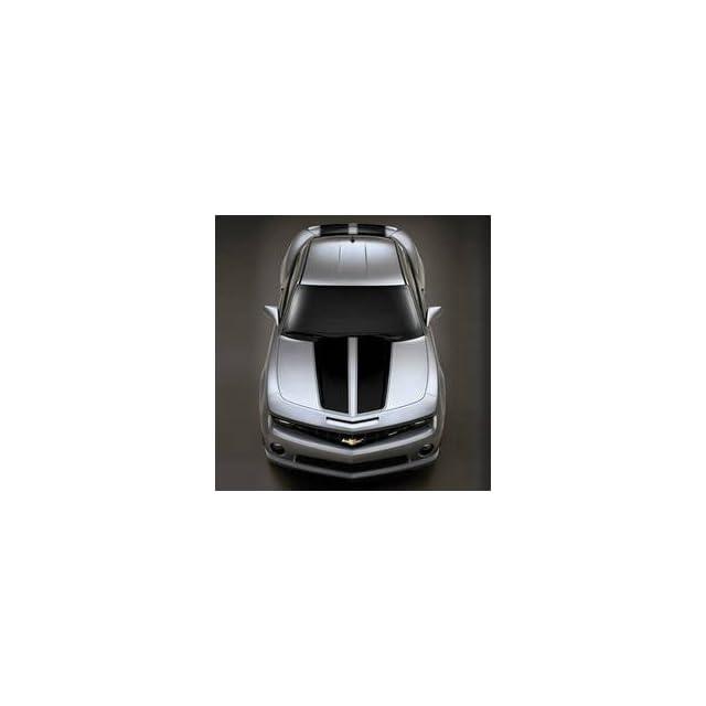 Chevrolet Camaro Rally Stripes Decal Kit   Gray