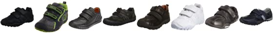 Petasil Junior Gino Black Aniline School Shoe 5186 10 Child UK