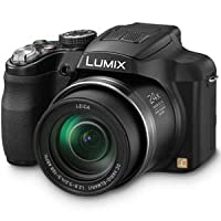 Panasonic Lumix DMC-FZ60 16.1 MP Digital Camera with 24x Optical Zoom - Black by Panasonic