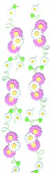 Martha Stewart Crafts Stickers, Pink-White Daisy Vine