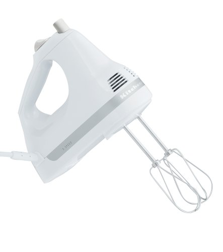KitchenAid RRHM5WH 5-Speed Ultra Power Hand Mixer, White (Certified Refurbished) (Refurbished Small Appliances compare prices)