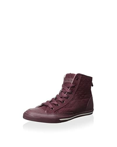 Burnetie Women's Lace Up High Top Sneaker