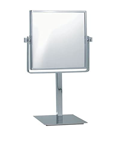Nameek's Glimmer Square Freestanding 3X Mirror AR7717, Chrome