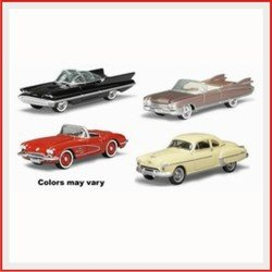 Buy Classic Gold Release 33: 1950s Precision Collection 4 Piece Assortment By Johnny Lightning