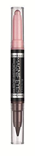RIMMEL LONDON Magnif'eyes Double Ended Shadow + Liner - Pink & Purple Rain