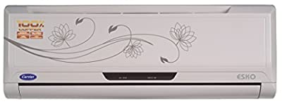 Carrier Esko 12K Split AC (1 Ton, 3 Star Rating, White)
