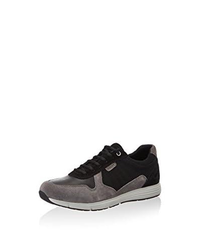 Geox Sneaker UOMO DYNAMIC B schwarz/anthrazit