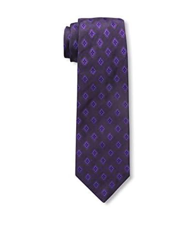 Kiton Men's Silk Tie, Blue