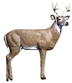 36 White American Whitetail Skirted Face