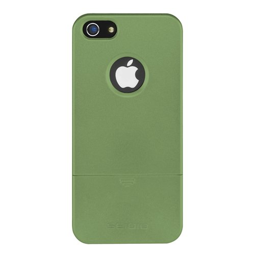 Great Price Seidio CSRSIPH5-GN SURFACE Reveal Case for Apple iPhone 5 - 1 Pack - Carrying Case - Retail Packaging - Sage