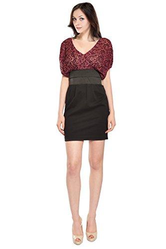 LaRok Charming Velvet Burnout Eve Dress