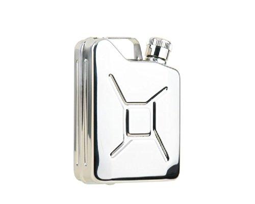 OUT-D 4oz Stainless Steel Hip flask Fiaschetta Fiaschettaer