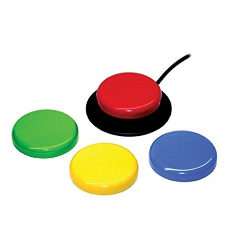 AbleNet Jelly Bean Twist - Accessible Switch - Set of 4 Colors (Jelly Bean Switch compare prices)