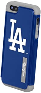 Forever Collectibles Los Angeles Dodgers Rugged Dual Hybrid Apple iPhone 5 & 5S... by Forever Collectibles