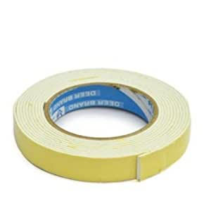 """Lowprice Online ™ Double sided Foam Tape 0.5"""" x 5 m Pack of 4"""