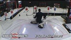 X-Goalie Crease Slideboard by XHockeyProducts