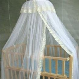 Household Bed Beige Cupola Baby'S Canopy front-1015380