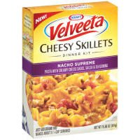 Kraft Velveeta Cheesy Skillets Nacho Supreme Dinner Kit 15.66 oz (021000034031)