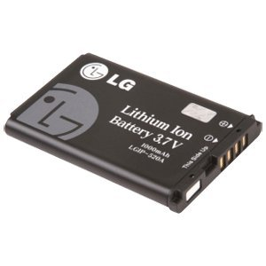 LG LGIP-520B Lithium Ion Cell Phone Battery - Proprietary - Lithium Ion (Li-Ion) - 1000mAh - 3.7V DC