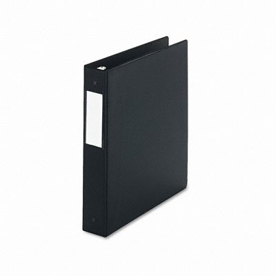 Round ring binder with label holder, suede finish vinyl, 1-1/2 capacity, black - Buy Round ring binder with label holder, suede finish vinyl, 1-1/2 capacity, black - Purchase Round ring binder with label holder, suede finish vinyl, 1-1/2 capacity, black (Universal, Office Products, Categories, Office & School Supplies, Binders & Binding Systems, Binders, Ring Binders, Round Ring Binders)