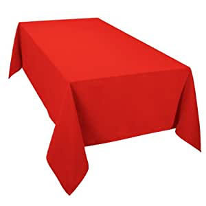 Amazon.com: Casual Dining Essentials 52 x 70-inch Oblong Tablecloth