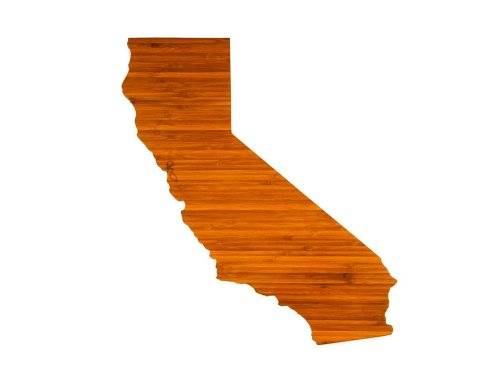 AHeirloom's California State Cutting Board