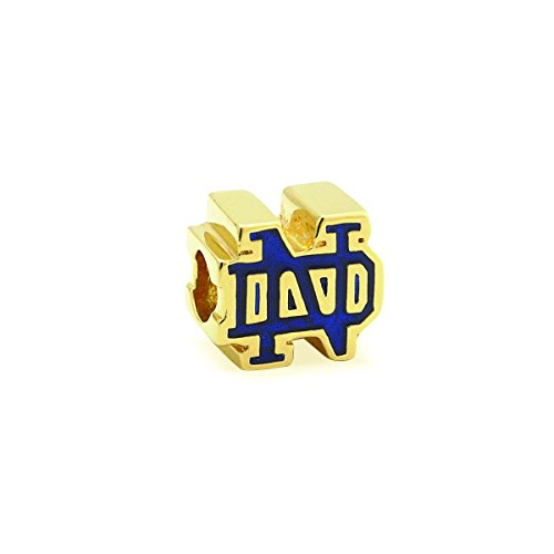 Notre Dame Bead Sterling Silver & Gold Plating