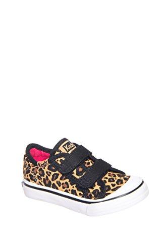 Toddler's Hook And Loop Leopard Sneaker