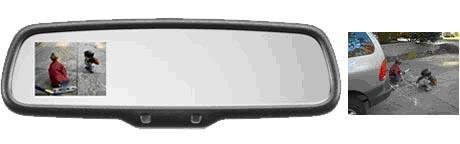 HomeLink MITO 50-GENK45AM Rearview Mirror W// Auto dimming Compass
