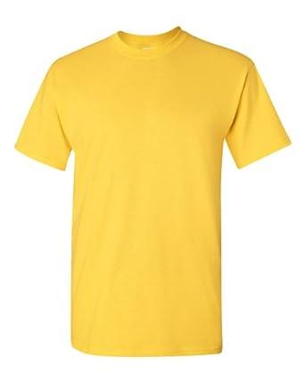 Gildan Mens Heavy Cotton Short Sleeve T-Shirt (S) (Daisy)